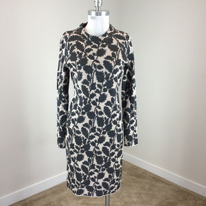 Ann Taylor Loft M Floral sweater dress Long sleeve